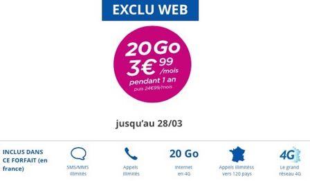 derni res heures promo forfait bandyou 20 go pour moins de 4 euros par mois et dropbox pour. Black Bedroom Furniture Sets. Home Design Ideas
