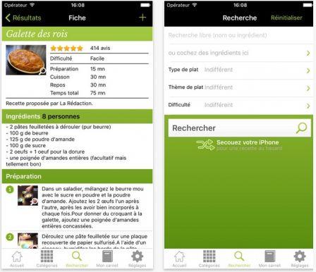 Dossier Gourmand Plus De Applis De Recettes De Cuisine Sur - Creer un livre de recette de cuisine