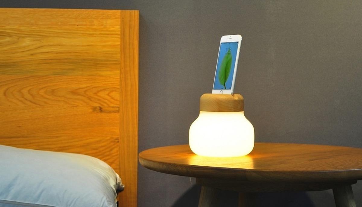 Champignon Lampe Et Chargeur D Iphone Un Accessoire Qui
