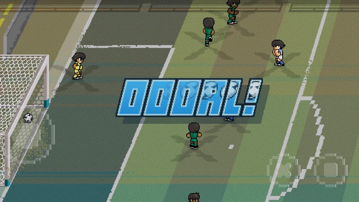 Passé Gratuit Pixel Cup Soccer 16 Le Foot Style Rétro Et