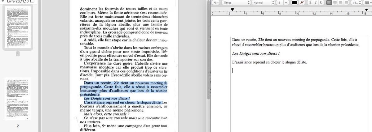 comment scanner plusieurs pages en un seul document pdf
