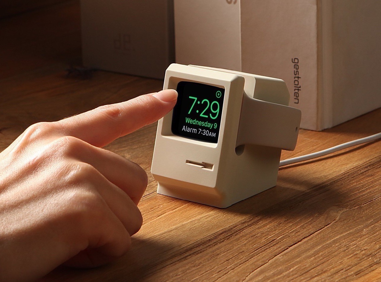 Le plus adorable des supports de recharge Apple Watch se la joue