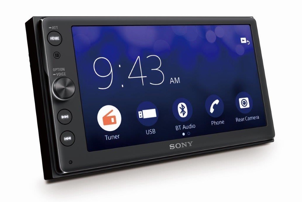 sony sort un autoradio compatible carplay. Black Bedroom Furniture Sets. Home Design Ideas