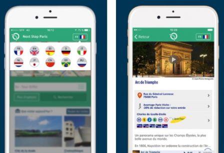 découvrir et profiter de Paris avec près de 30 applications !