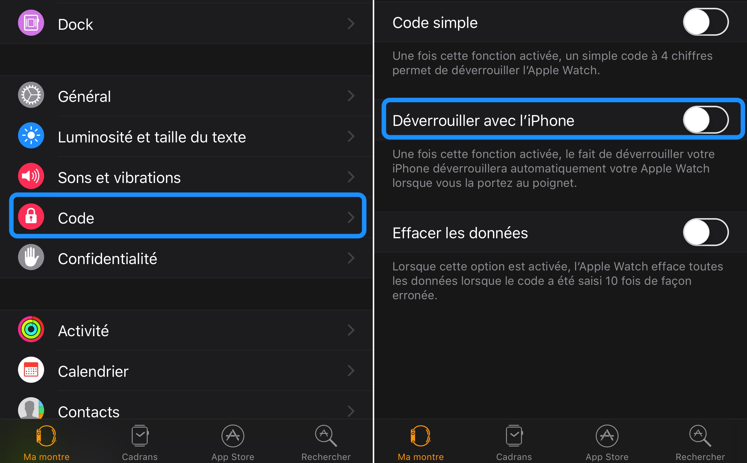 Pirater code verrouillage iphone X