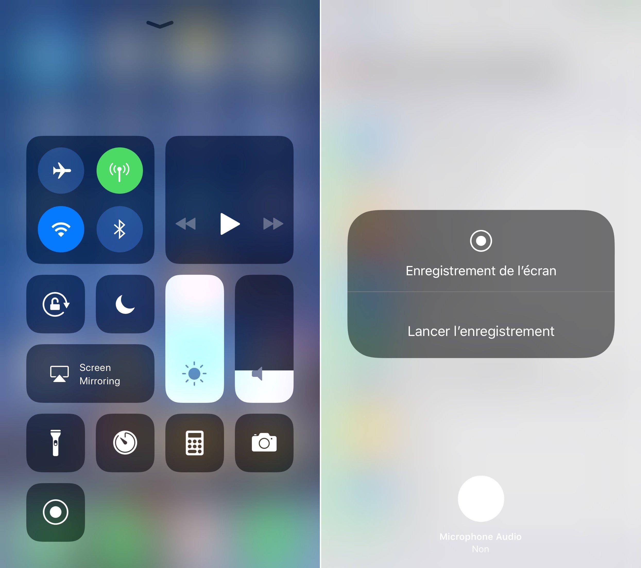 comment enregistrer conversation iphone ios 7