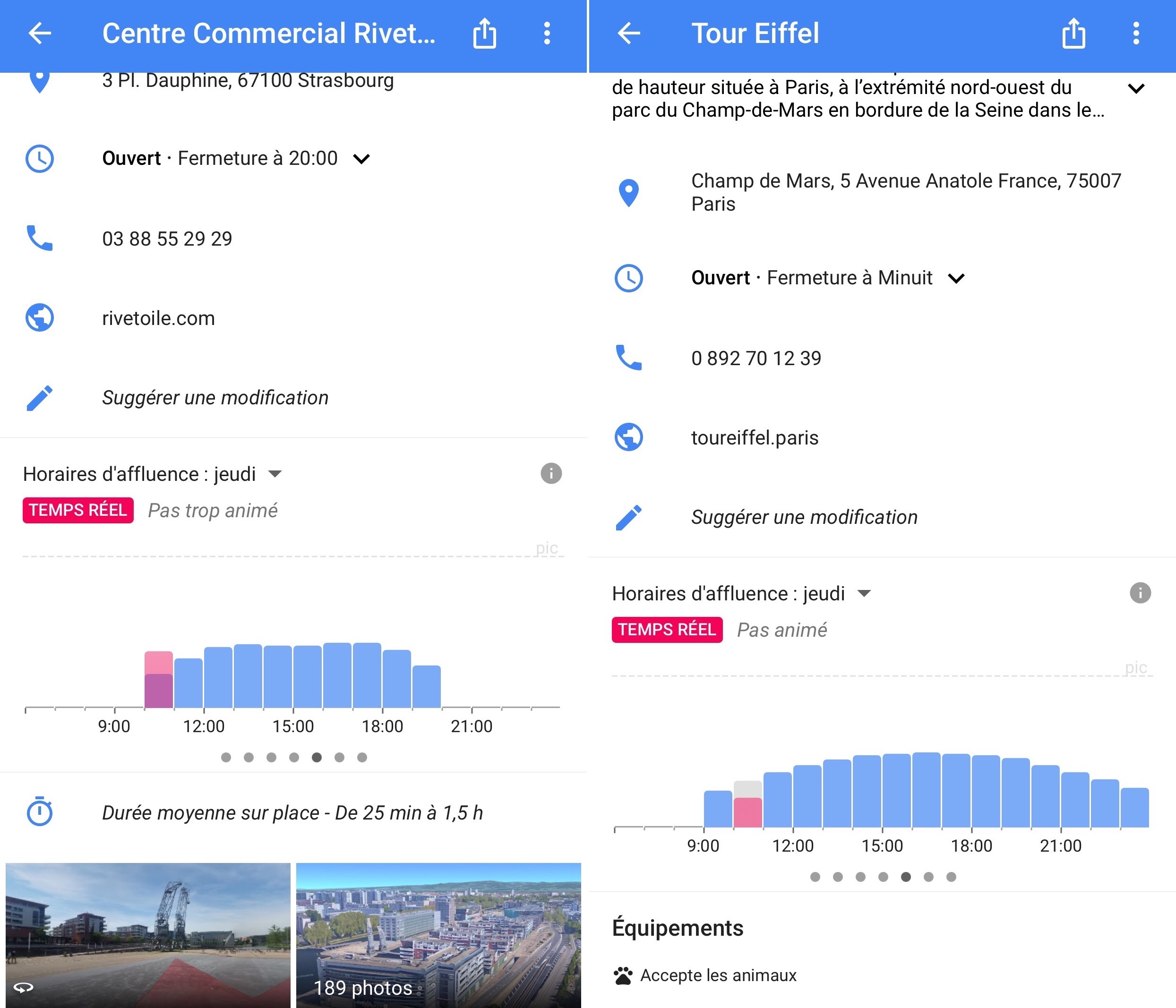 google maps affluence 2jpg - Voir Sa Maison Avec Google
