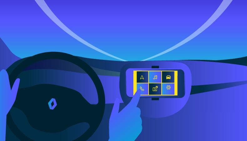 renault va connecter ses autos au smartphone carplay iphone embarque sur de nombreux mod les. Black Bedroom Furniture Sets. Home Design Ideas