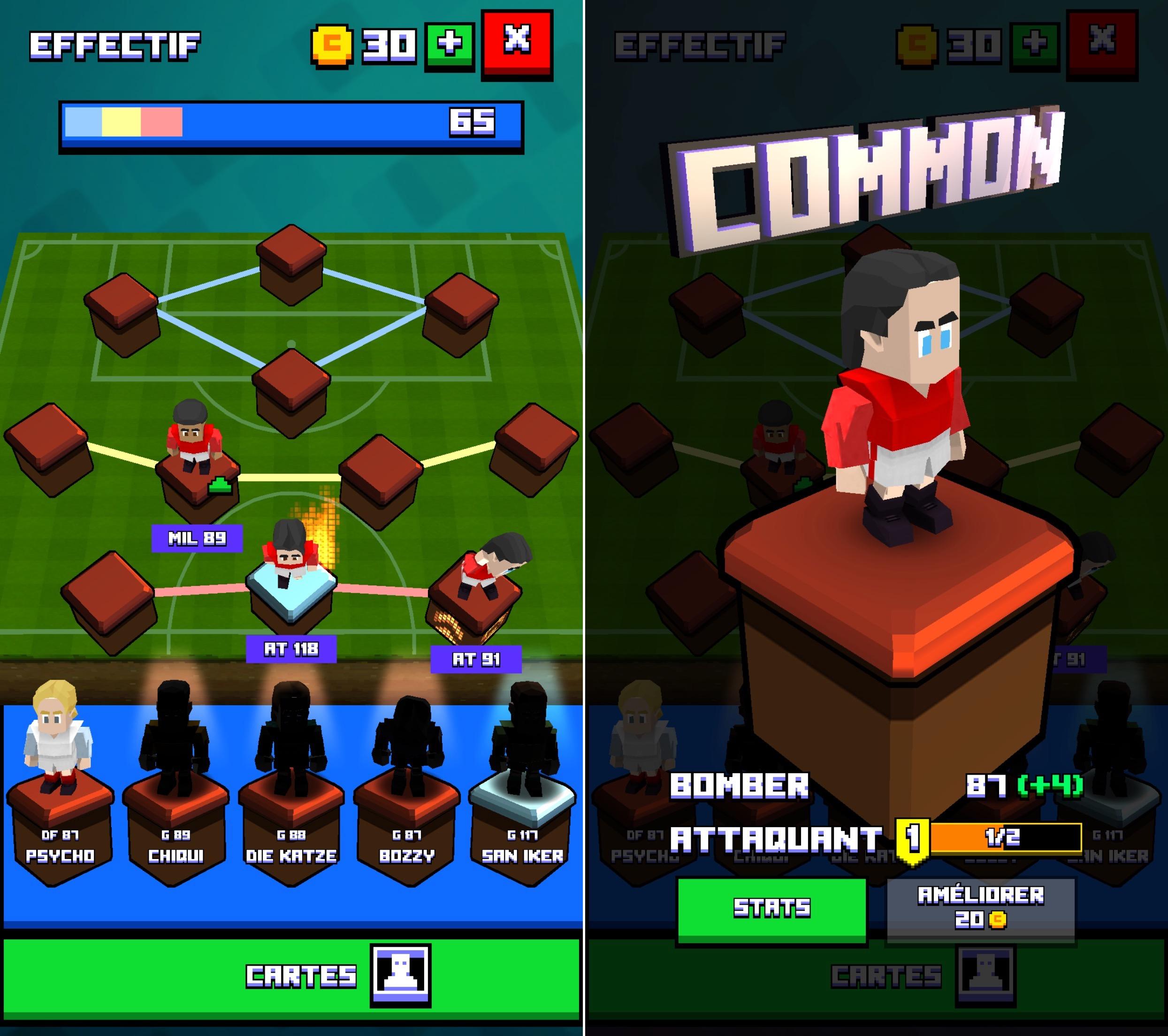 retro soccer nouveau jeu de foot iphone l 39 ambiance r tro pixel gratuit et sympa. Black Bedroom Furniture Sets. Home Design Ideas