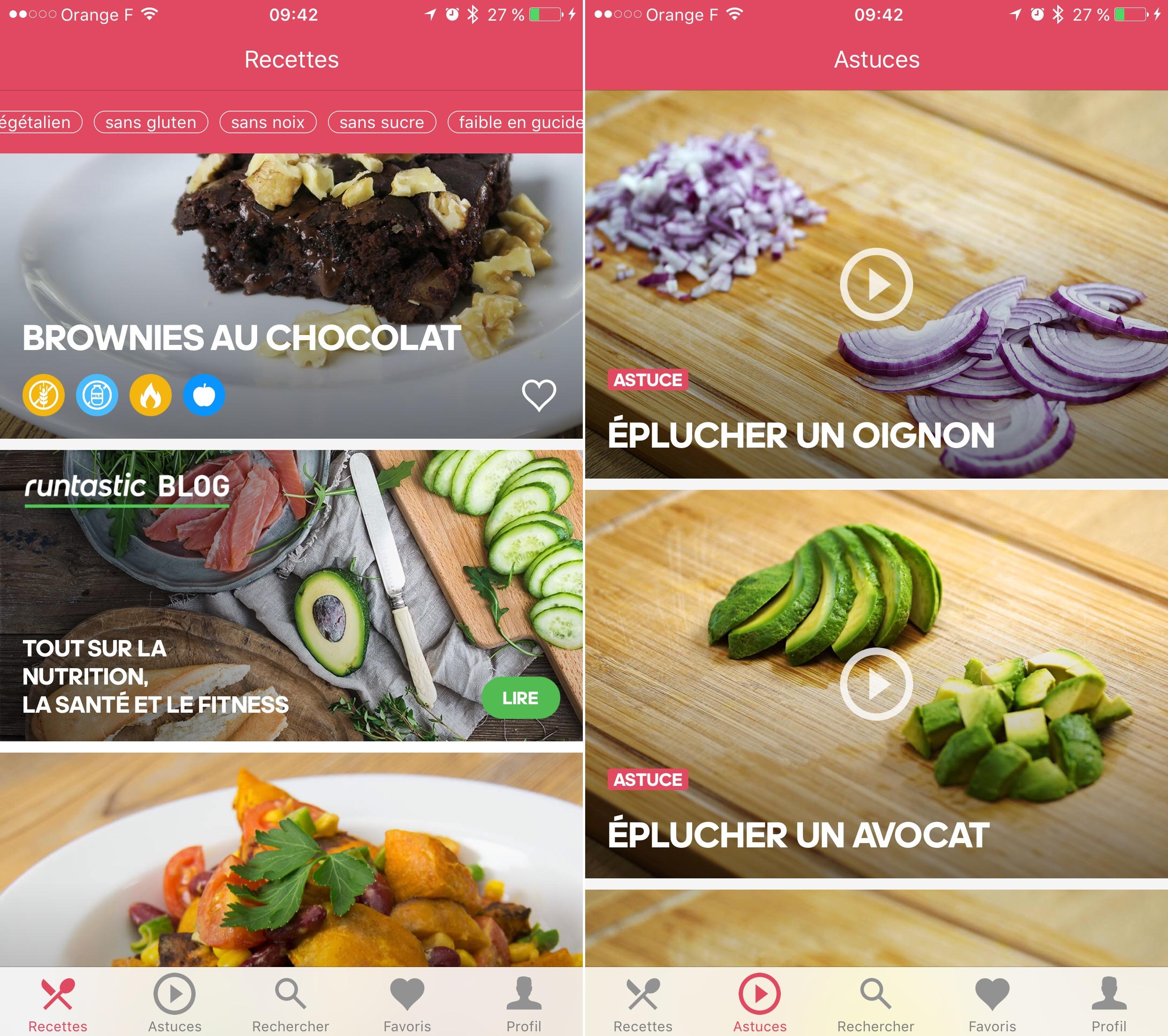 Dossier Gourmand Plus De Applis De Recettes De Cuisine Sur - Appli cuisine