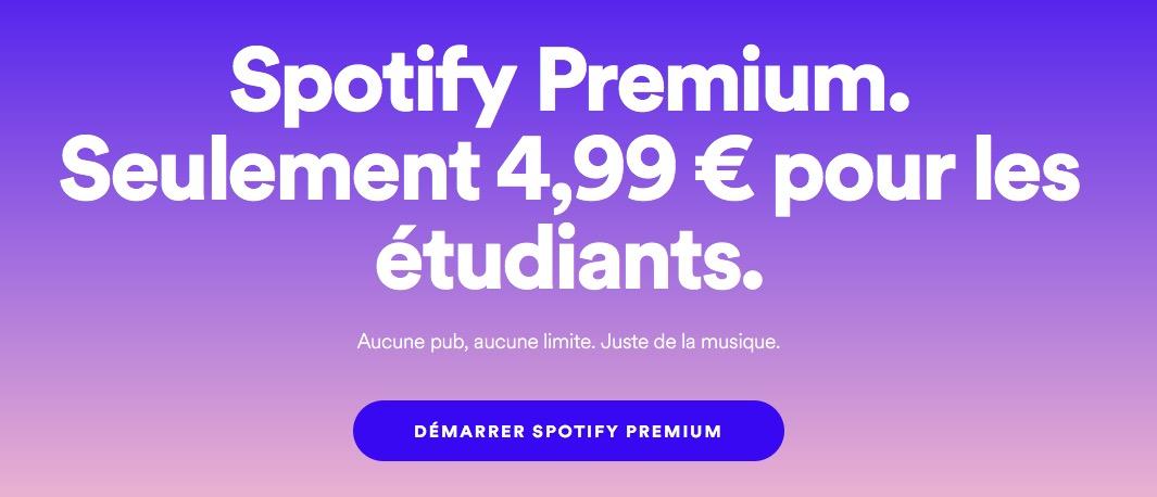 L 39 abonnement spotify moiti prix pour les tudiants - Abonnement the economist tarif etudiant ...