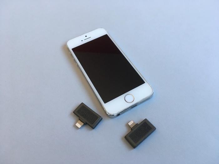 sprimo un petit capteur de pollution brancher directement sur l iphone. Black Bedroom Furniture Sets. Home Design Ideas