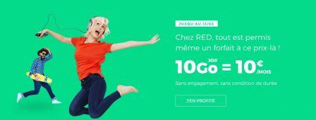 nouvelles promos forfaits sosh 40 go 9 99 euros mois sfr red 30 go 5 euros et les offres. Black Bedroom Furniture Sets. Home Design Ideas