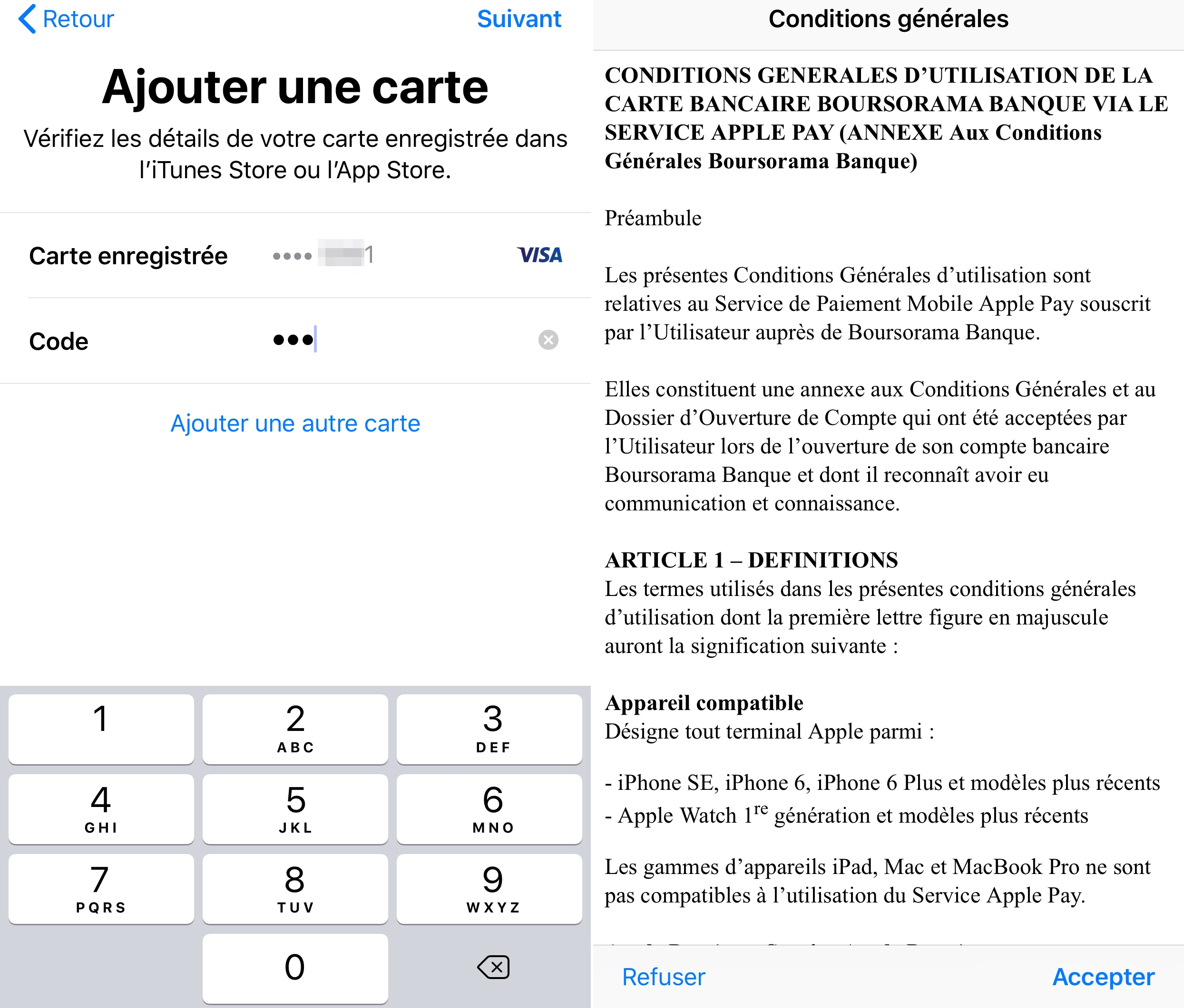Carte Black Chez Boursorama.Apple Pay Desormais Disponible Chez Boursorama Banque