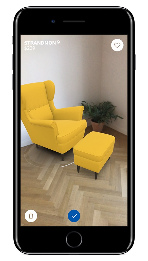 la r alit augment e arkit fait son show chez apple vid os. Black Bedroom Furniture Sets. Home Design Ideas