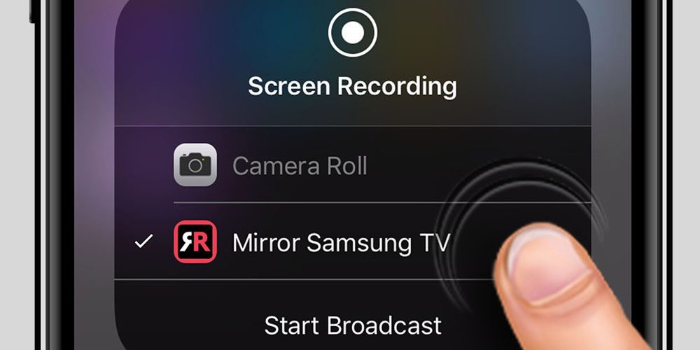 stream iphone to samsung tv avec ios 11 une app permet de streamer l 233 cran de l 18043