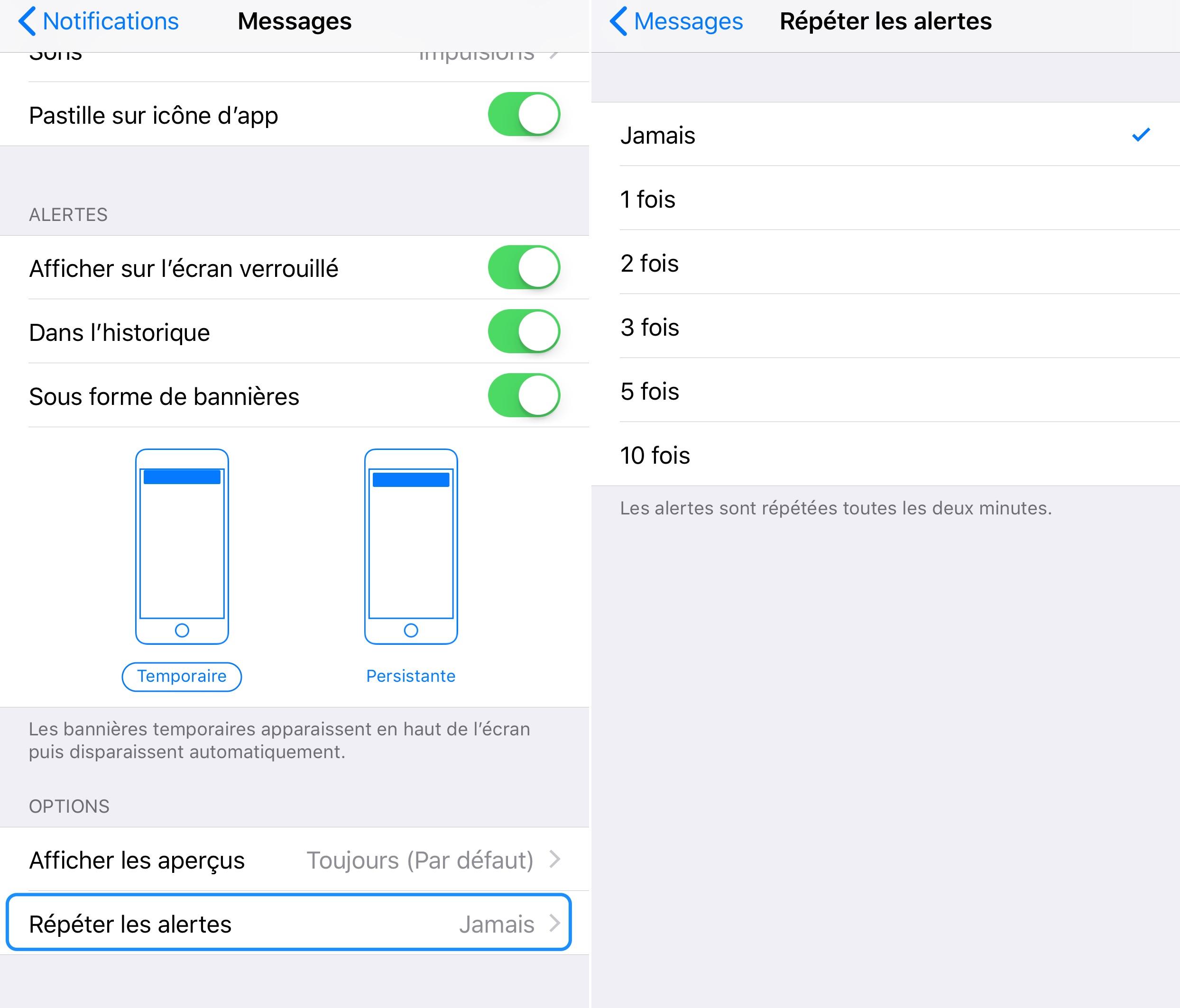comment lire ses sms sur ipad