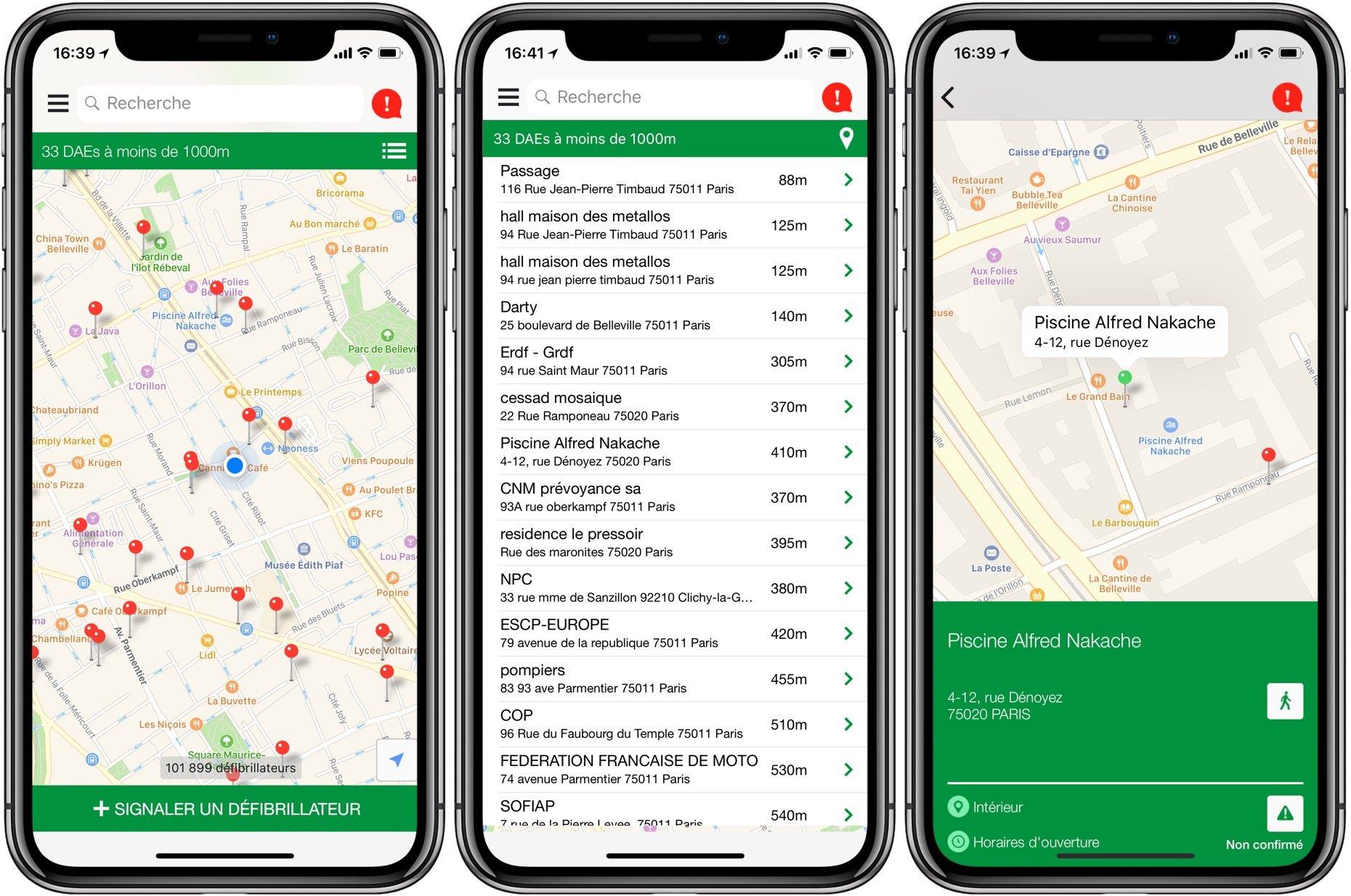 Application iphone rencontre autour de soi