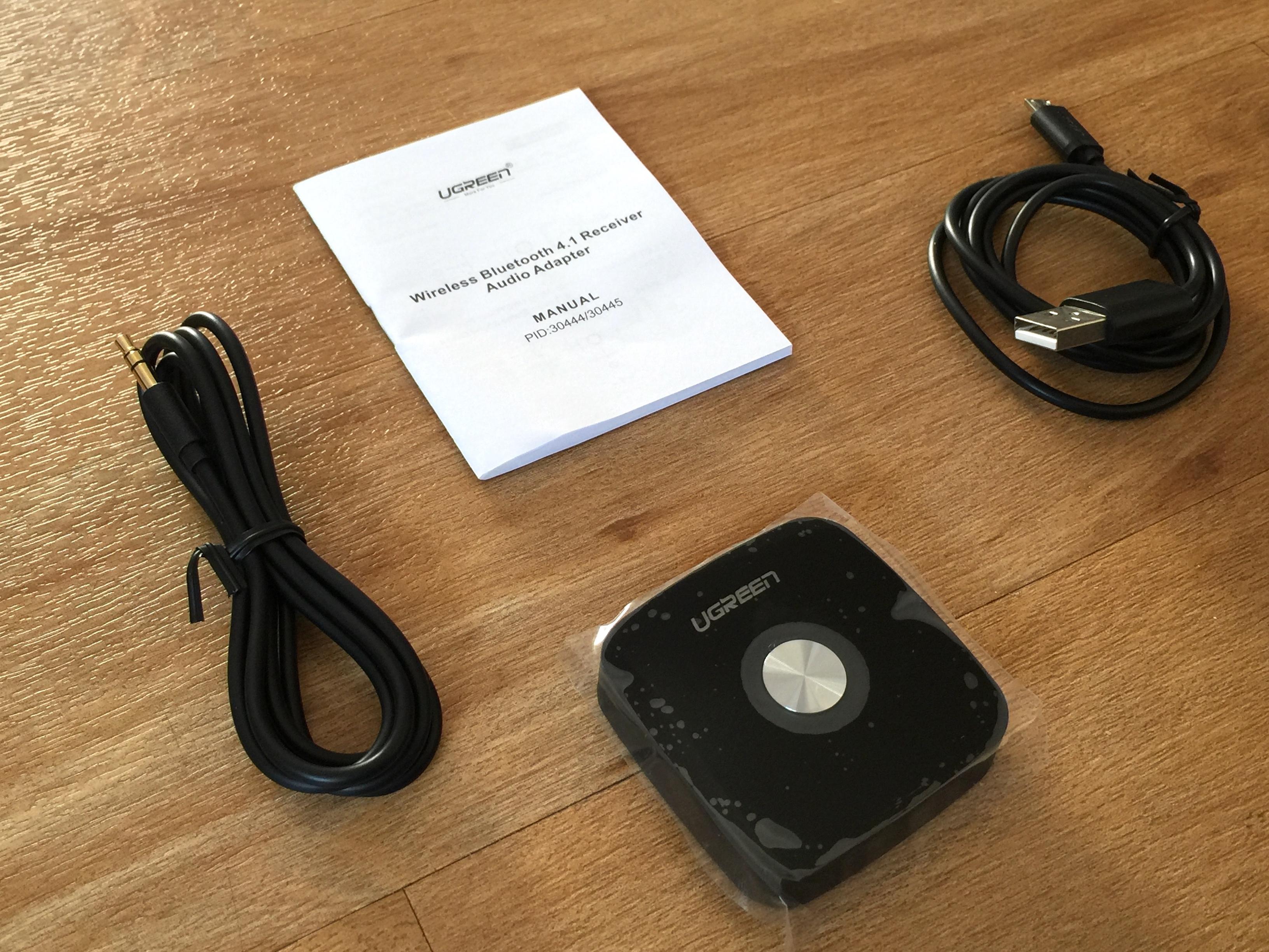 test du r cepteur bluetooth ugreen pour diffuser sans fil sur de l 39 ancien mat riel hi fi. Black Bedroom Furniture Sets. Home Design Ideas