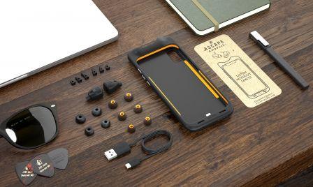 amppack les couteurs fa on airpods qui se rangent et se rechargent dans une coque iphone. Black Bedroom Furniture Sets. Home Design Ideas