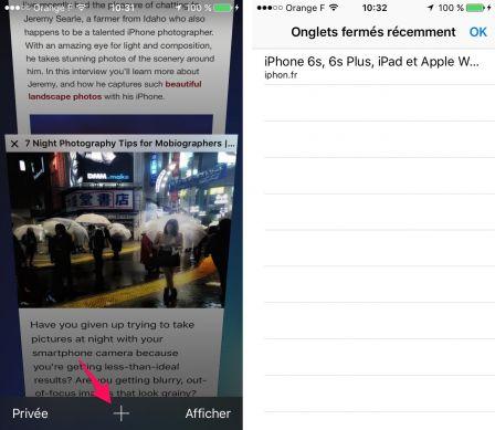 Pratique retrouver facilement un onglet safari que l 39 on for Ouvrir un lien dans une nouvelle fenetre html