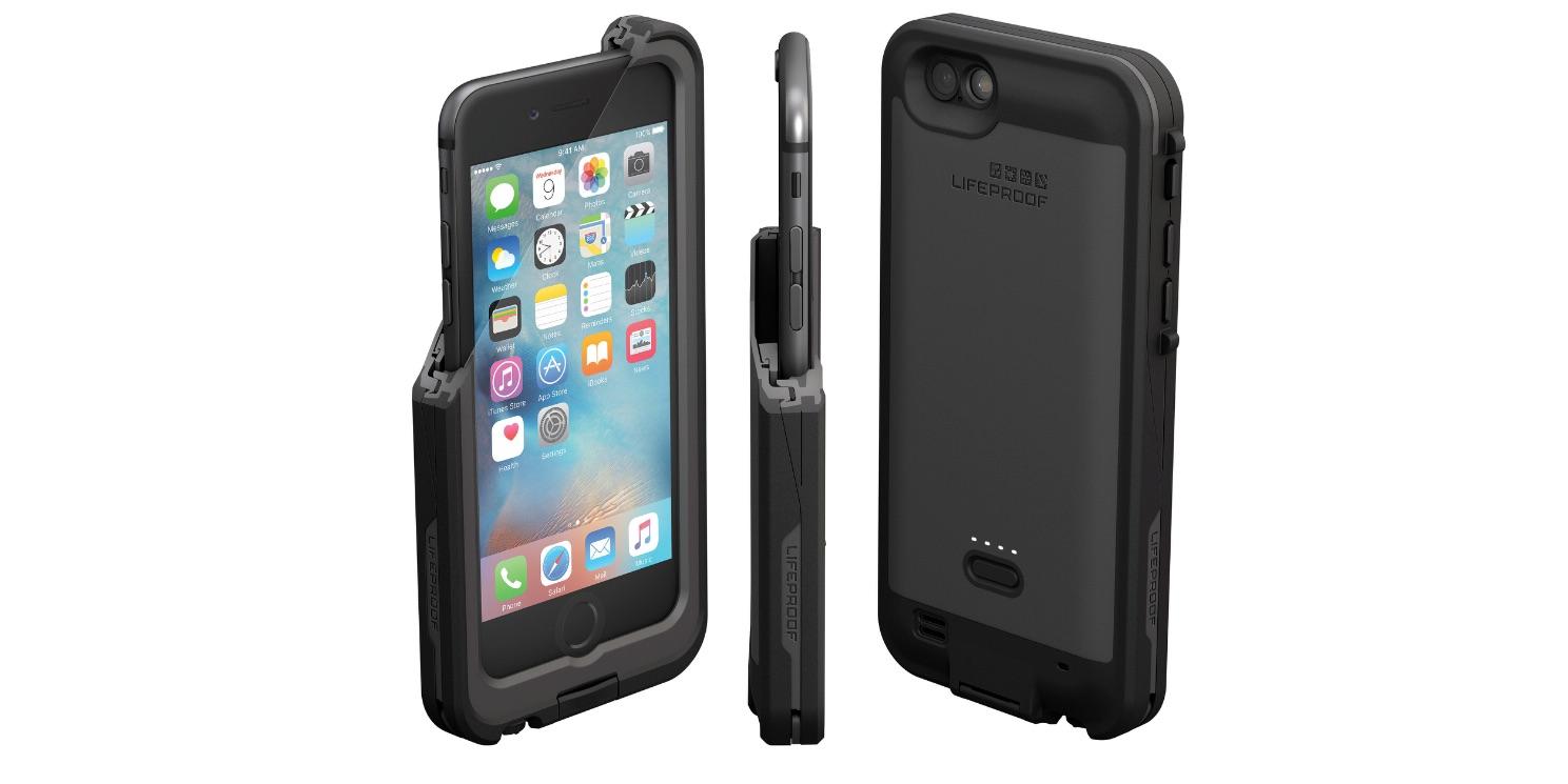 lifeproof lance la coque fre power pour l 39 iphone 6s plus iphone x 8 ipad et apple watch. Black Bedroom Furniture Sets. Home Design Ideas