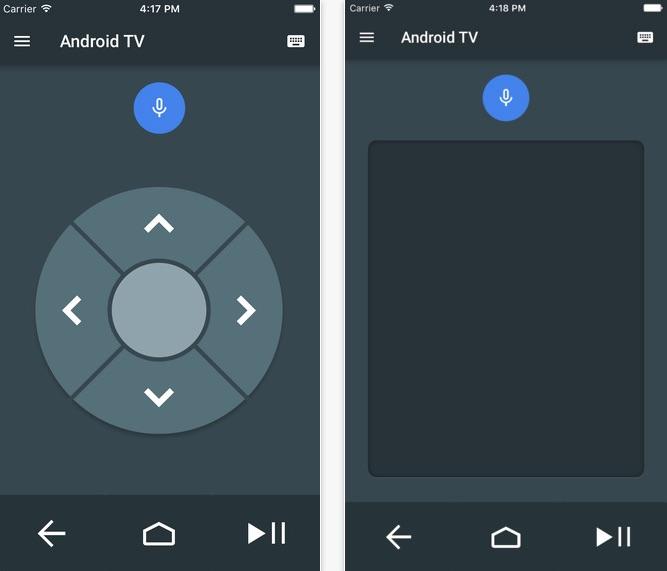 les boitiers android tv peuvent tre pilot s gr ce une. Black Bedroom Furniture Sets. Home Design Ideas