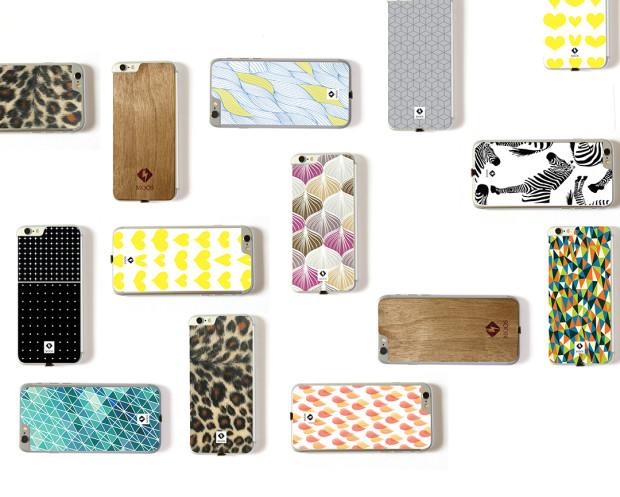 moos offre l 39 iphone la recharge sans fil qi avec l gance. Black Bedroom Furniture Sets. Home Design Ideas