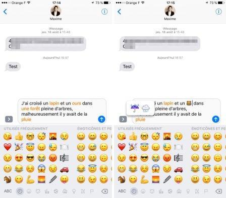 pratique ios comment activer utiliser le clavier emoji sur l 39 iphone et l 39 ipad sp cificit s. Black Bedroom Furniture Sets. Home Design Ideas