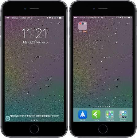 Des Fonds D Ecran Qui Scintillent Quand Votre Iphone Bouge