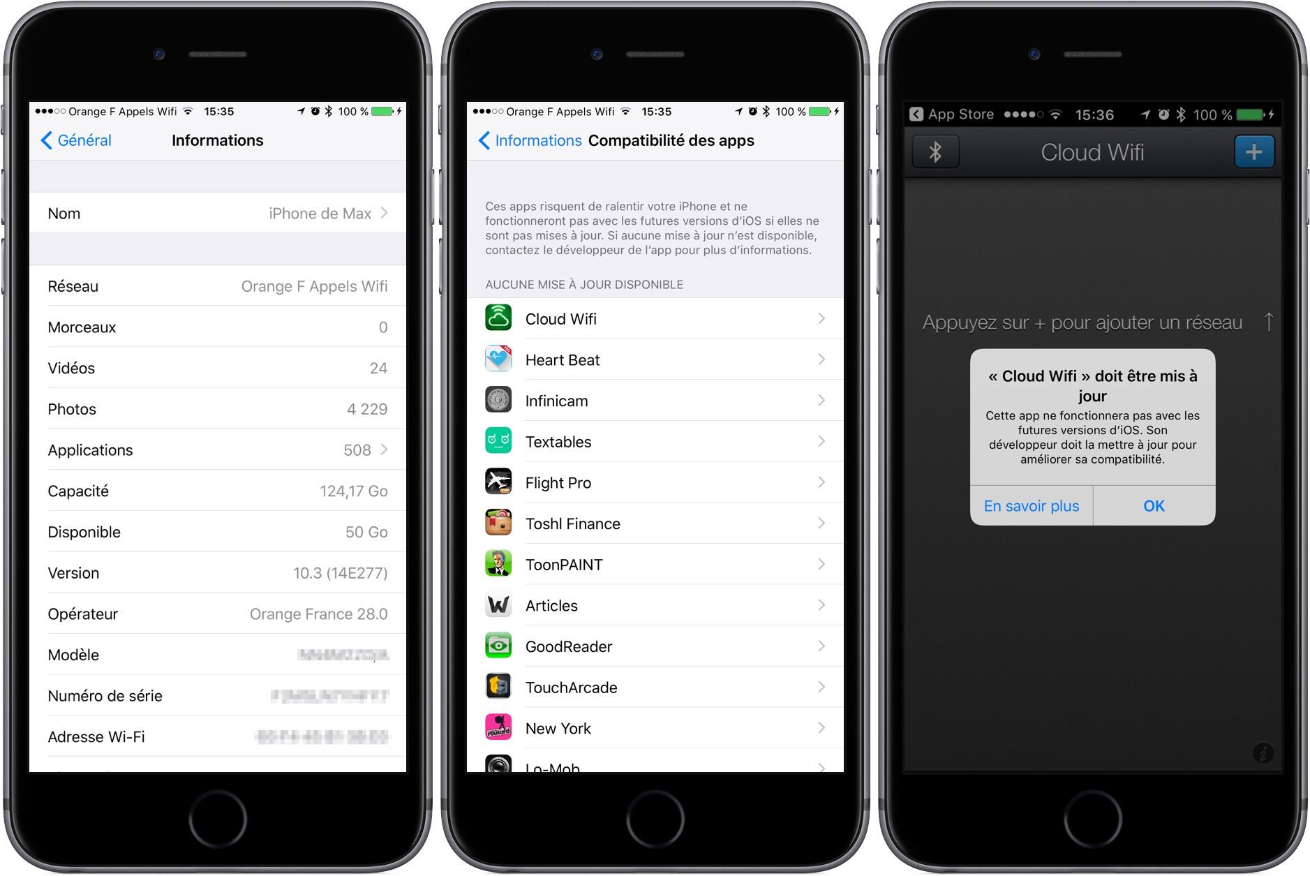 Comment et o trouver les applications bient t obsol tes install es sur iphone ipad gr ce - Ou trouver de la vergeoise ...