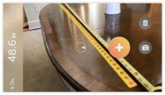 Ar measure une app pour tout mesurer avec l 39 iphone - Application pour mesurer une piece ...