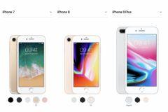 .iphone 7 8 comparaison 0 s