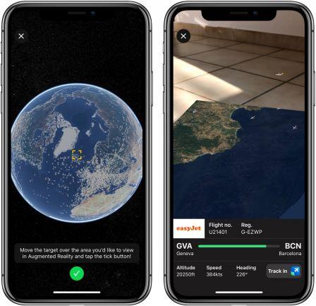 Dossier plus de 30 apps iphone et ipad pour profiter de for Plane finder 3d