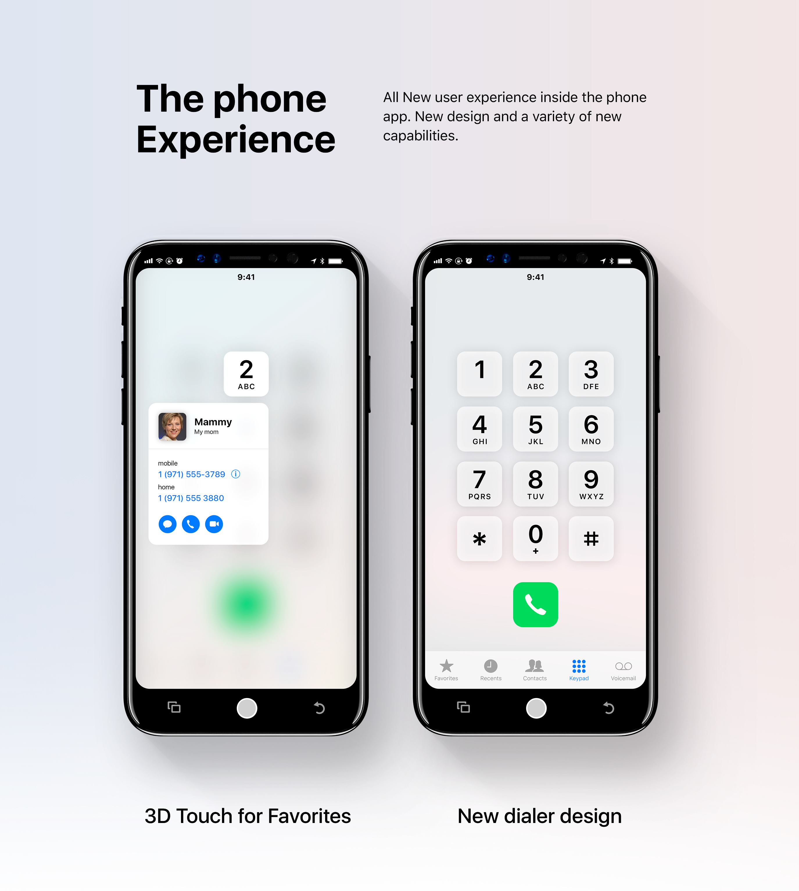 En Images Un Concept D Ios 12 Adapt 233 224 L Iphone 8