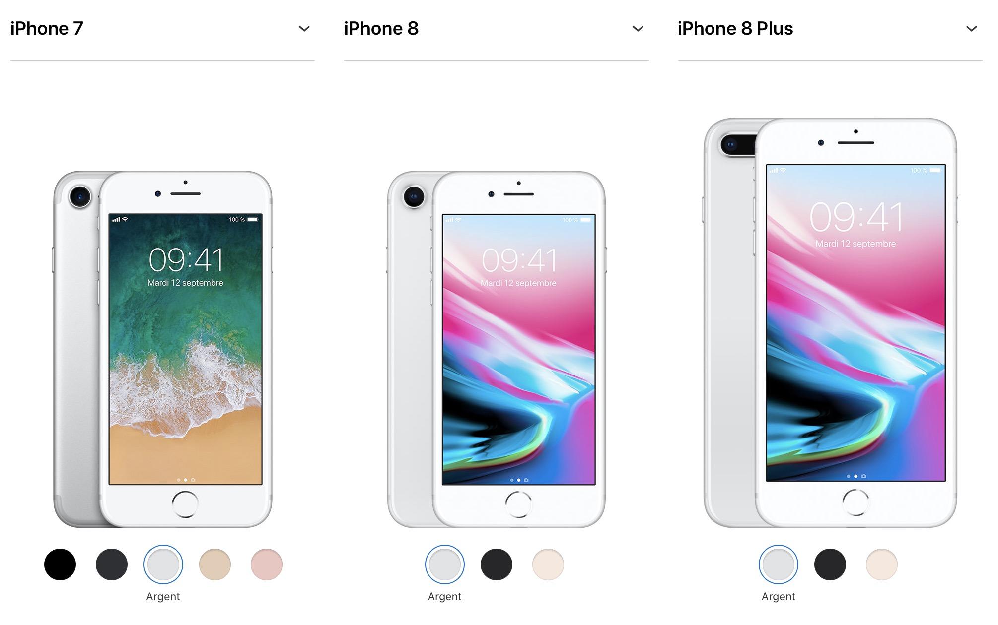 iphone 7 8 comparaison 1