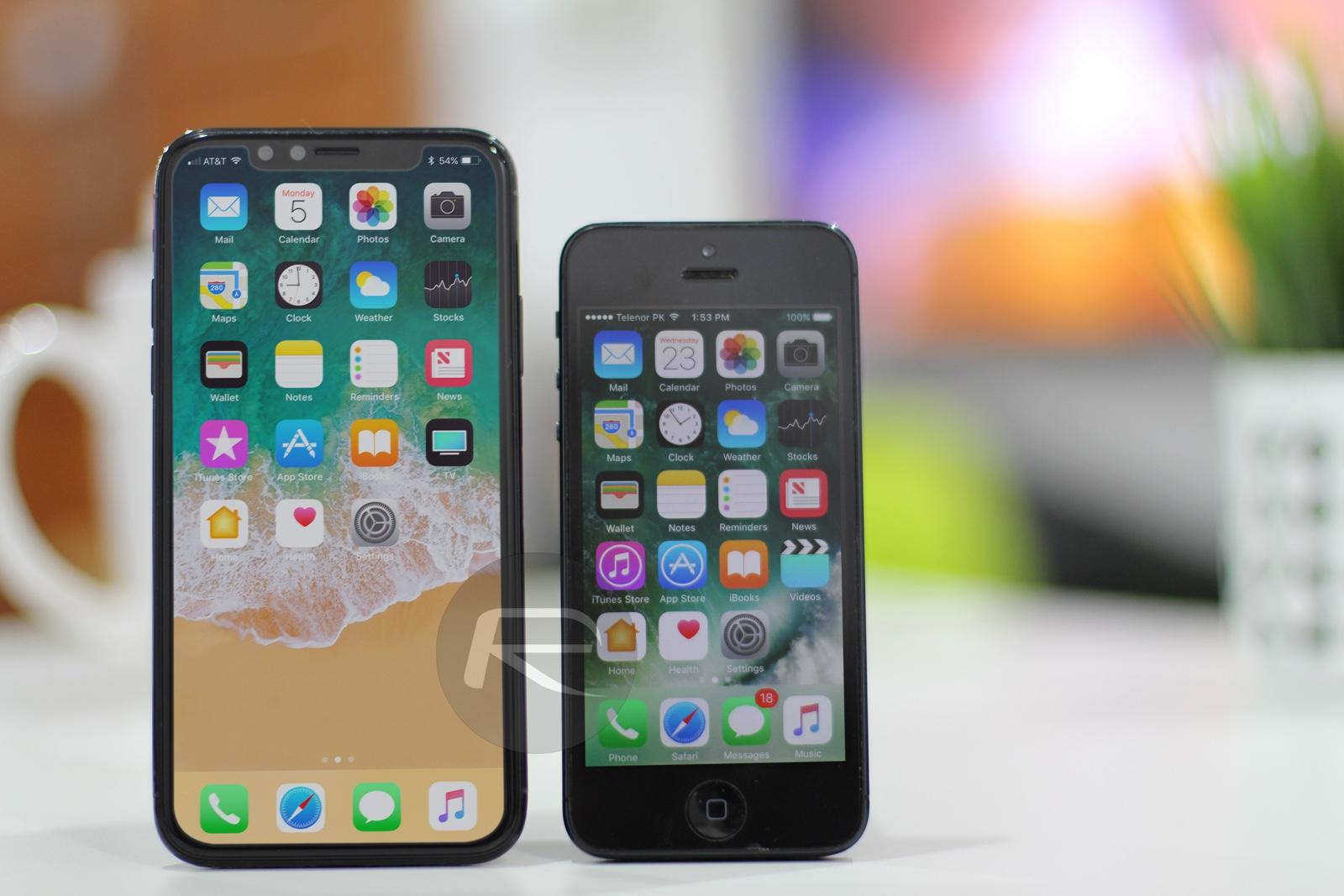 comparatif photo maquette iphone 8 aux cot s des iphone pass s iphone x 8 ipad et apple. Black Bedroom Furniture Sets. Home Design Ideas