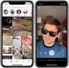 Instagram Reproduit L Effet Portrait De L Iphone Plus X Et L