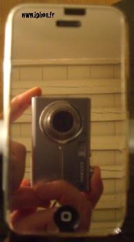Test protection cran miroir iphone artwizz iphone x 8 for Application miroir iphone