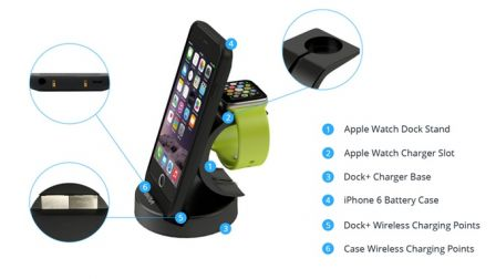 energyskin un support iphone une coque et de la recharge sans fil. Black Bedroom Furniture Sets. Home Design Ideas