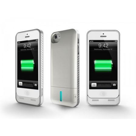 une coque avec batterie interchangeable pour iphone 5 vid o. Black Bedroom Furniture Sets. Home Design Ideas
