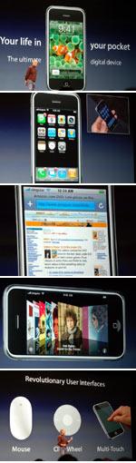iPhone: PDA, télephone mobile haute résolution et plus ... Enorme! 1
