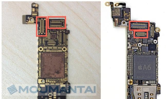 Схема платы iphone 5 c