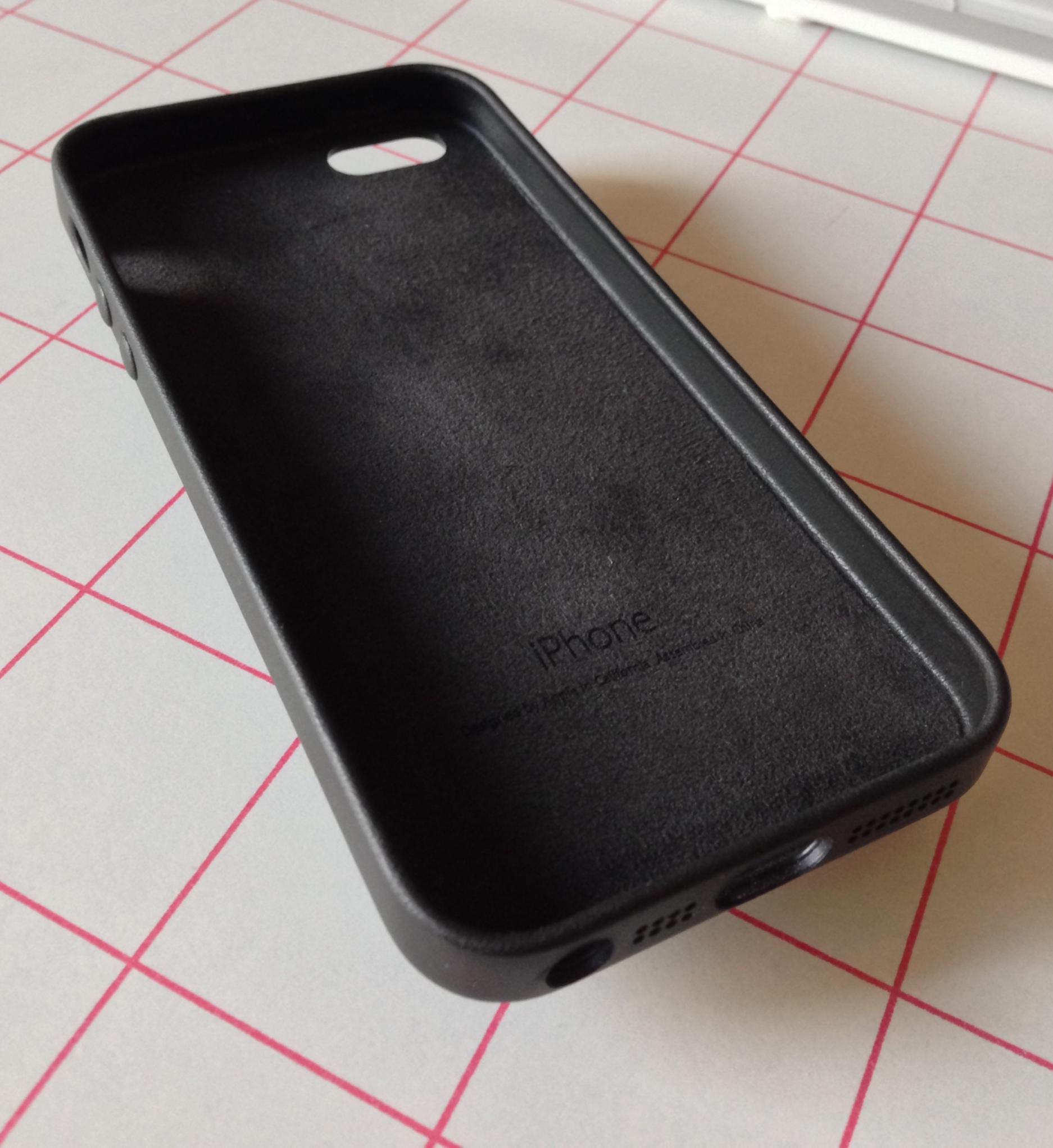 coque iphone 5 silicone volume