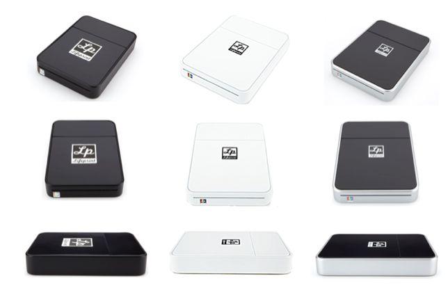 le polaroid revient avec la mini imprimante iphone lifeprint. Black Bedroom Furniture Sets. Home Design Ideas