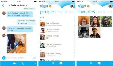 Maj L 39 Appli Est Nouveau Disponible Skype Disparait De L 39 App Store En Attendant Une Mise