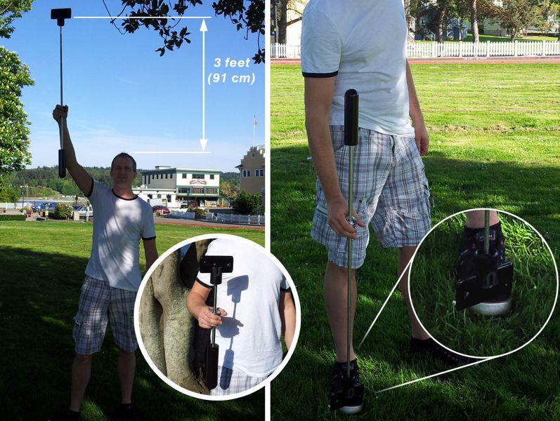 """Des vidéos plus stables grâce à un """"Steady Cam"""" allégé pour smartphones et GoPro"""