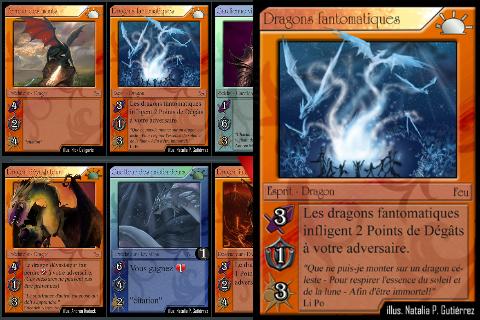 jeux de carte a collectionner Moonga, le nouveau jeu de cartes à collectionner  sur iPhone !