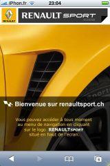 coque iphone 8 renault sport