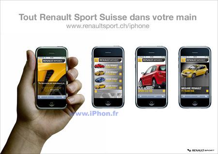 coque iphone xr renault sport